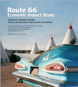 A study was carried out in collaboration with the National Park Service Route 66 Corridor Preservation Program and World Monuments Fund and was funded by American Express