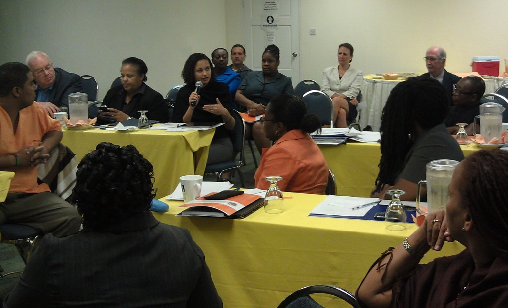 Regional meeting of Heritage stakeholders discussing the future of Caribbean Heritage Management, Bridgetown, Barbados, 2013